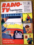 "This Vintage 1955 Radio-TV Experimenter Magazine is in good condition. It measures approx. 6 1/2"" x 9 1/4"" and is suitable for framing. This magazine's front cover features ""Radio Contr..."