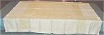 Yellow Fine Linen Damask Tablecloth 6 Napkins
