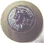 Black Glass Antique Cameo Button