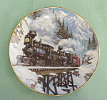 Hamilton Collection Winter Crossing Plate