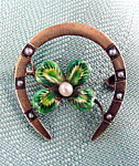 Victorian Horseshoe Pin