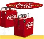 1950's Coca Cola Soda Pop Picnic Cooler