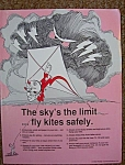 Reddy Kilowatt Kite Safety Flyer