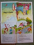 Reddy Kilowatt Kite Safety Poster 1982