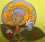 Dlr Le Jiminy Cricket Environmentality Pin
