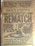Daily News Mike Tyson Ko D By Holyfield