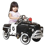 1940's Classic Sad Face Police Pedal Car