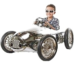 1950's Le Chrome Ferrari Racer Pedal Car