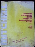 Mitchell 12/84 Gm Domestic Collision Book