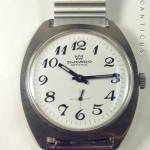 1970s Ducado Steel Manual Wind Wristwatch, Steel Expand