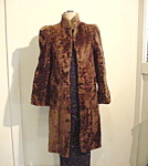 Heavy Vintage Fur Calf-skin Coat.