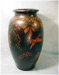 Antique Lacquered Vase, Large.