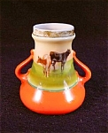 Royal Bayreuth Cattle Vase.
