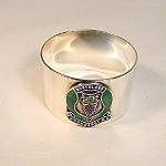 Whangarei Silver Plated Napkin Ring.