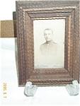 Tramp Art Frame & Photograph Card