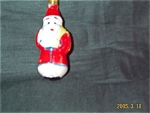 Christmas Collectible Santa Light Bulb