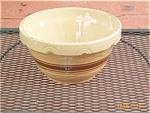 Yellow Ware Kitchen Mixing Bowl