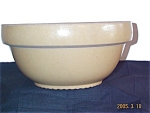 Yellowware Mixing Bowl