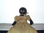 Black Americana Cloth Doll