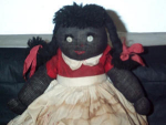 Black Americana Handmade Folk Art Cloth Doll