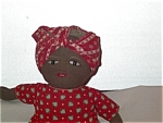 Black Americana Doll Folk Art