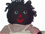 Black Americana Rag Doll