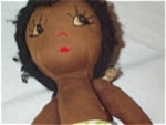 Black Americana Rag Doll Folk Art