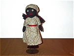 Black Americana Folk Art Doll