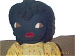 Black American Folk Art Ragdoll