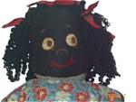 Black Americana Folk Art Rag Doll