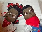Black American Boy & Girl Dolls