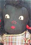 Black Americana Antique Cloth Folk Art Doll