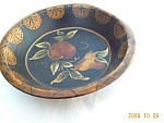 Toleware Hand Painted 40s Bowl
