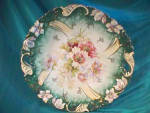 Rs Prussia Steeple Mold Open Handled Plate