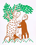 Tree Family, Manuel Mendive, Cuban