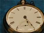 18 Size Illinois Keywind Keyset Pocket Watch