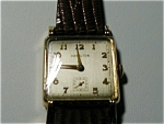 Square Gold Filled Hamilton Wristwatch