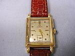 14k Omega Retangular Wrist Watch