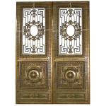 Antique Bronze Entry Doors By Winslow Bros.