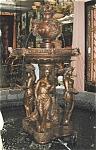 """Magnificent 93""""h Figural Bronze Fountain"""