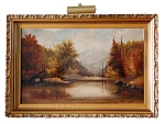 Early 20th C. Oil On Canvas Signed R.s. Galbraith