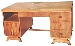10.1438 Art Deco Rosewood Desk