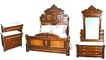 American Victorian 4 Pc. Bedroom Suite.