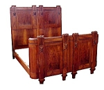 Nice 6 Pc. Walnut Babies Bedroom Set C. 1920