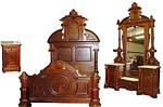 3 Pc American Victorian Bedroom Set