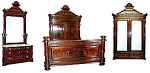 3 Piece American Victorian Bedset By Herter