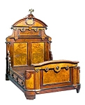 Pottier & Stymus Renaissance Revival Bed