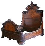 Beautiful American Renaissance Revival Bed
