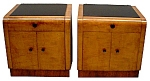 Beautiful Pair Of Art Deco Nightstands C. 192