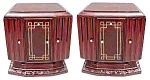 Fabulous Pair Of Art Deco Nightstands